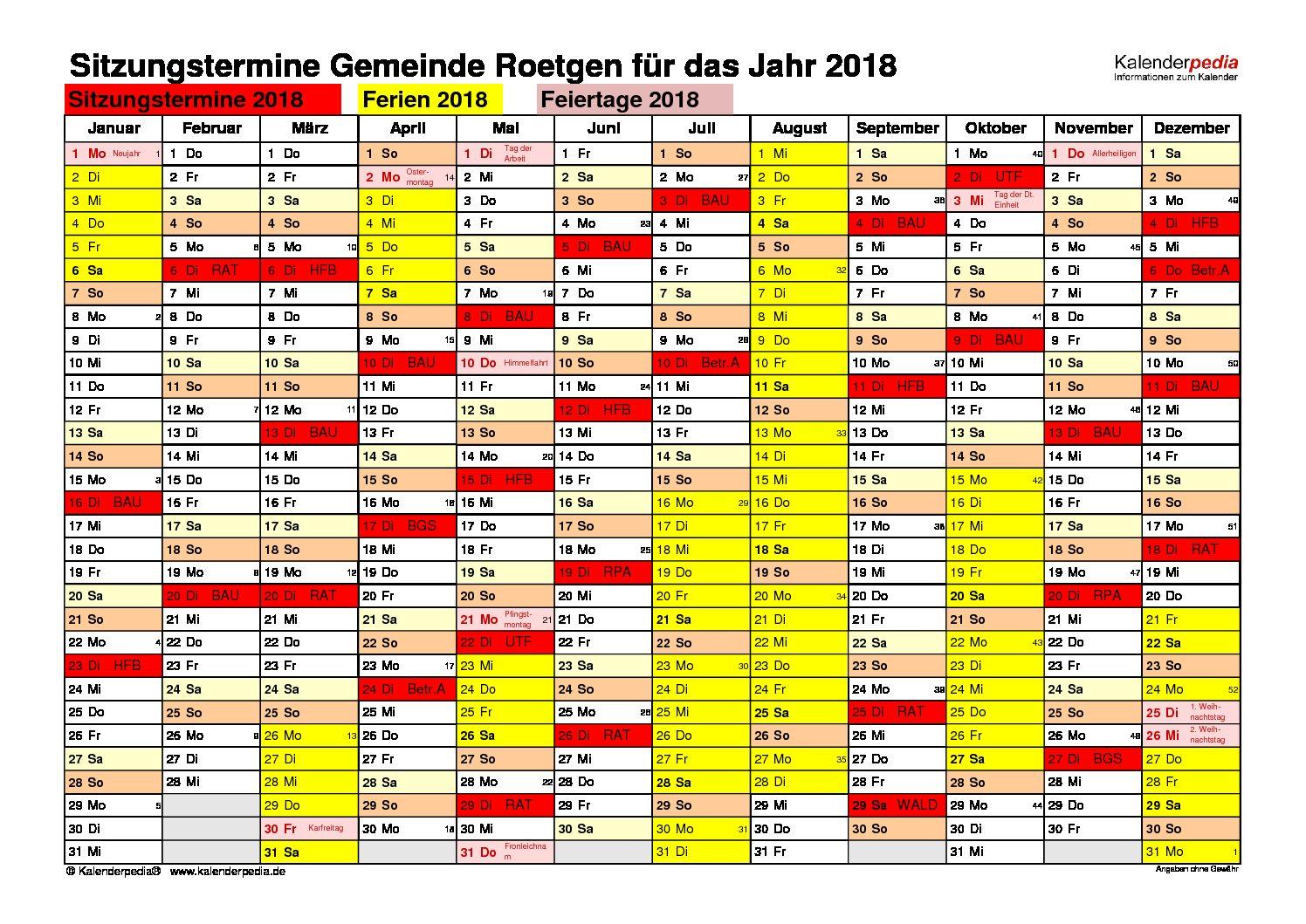 KalenderSitzung2018